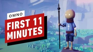 Первые 11 минут геймплея Omno: приключенческая игра в древнем мире чудес