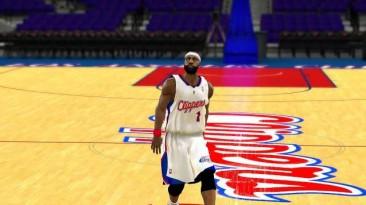 """NBA 2K10 """"LA Clippers 10-11 Jerseys"""""""