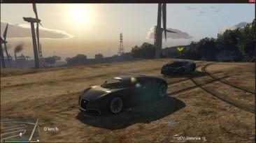 "Grand Theft Auto 5 ""Car Companion V (Driverless car) 1.1 - Компаньон на тачке"""