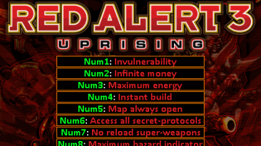 Command & Conquer: Red Alert 3: Uprising Трейнер/Trainer (+8) [1.0] {KROCKI}