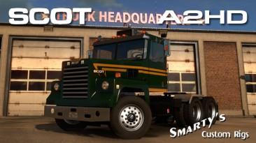 """American Truck Simulator """"Американский грузовичок Scot A2HD v1.0.9 ATS 1.37.x"""""""
