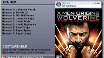 X-Men Origins - Wolverine Трейнер: (+9) [1.0] {CheatHappens}