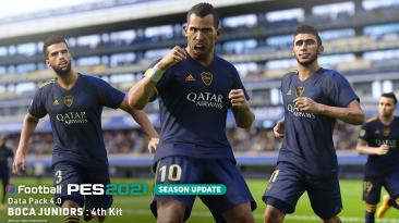 Сезонное обновление Data Pack 4.0 для eFootball PES 2021 теперь доступно для загрузки