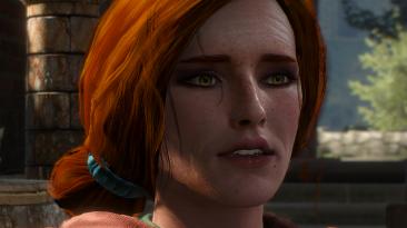 """Witcher 3: Wild Hunt """"Triss Auburn Hair\Каштановые волосы для Трисс"""""""