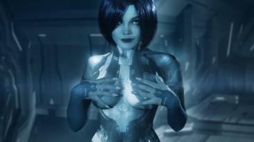 Косплей Кортаны из Halo