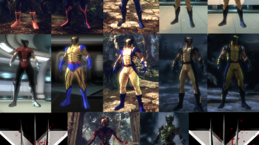 "X-Men Origins: Wolverine ""Пак скинов [DeathCold]"""