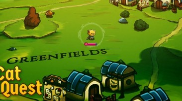 Релизный трейлер милой пушисто-усатой ролевой игры Cat Quest