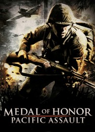 Обложка игры Medal of Honor Pacific Assault