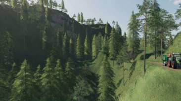 "Farming Simulator 19 ""Карта BERGHOLMEN HARDCORE FORESTRY V1.0.0.3 FS19"""