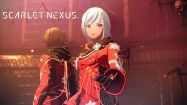 Новый геймплей Scarlet Nexus с исследованиями и битвами