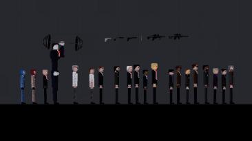 """People Playground """"Убийцы и шпионы"""""""