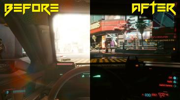 Новый мод Cyberpunk 2077 устраняет проблемы с адаптацией глаз / автоэкспозицией, улучшая вождение от первого лица