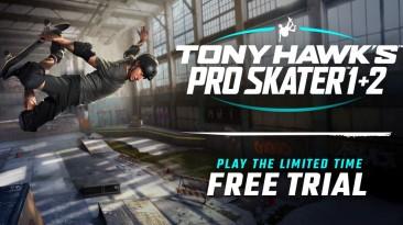 Успейте сыграть во временную пробную версию Tony Hawk's Pro Skater