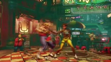"""Street Fighter 5 """"Скин Cammy: Overwatch Tracer"""""""