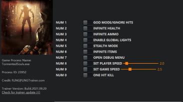 Tormented Souls: Трейнер/Trainer (+10) [0.73.6] {FLiNG}