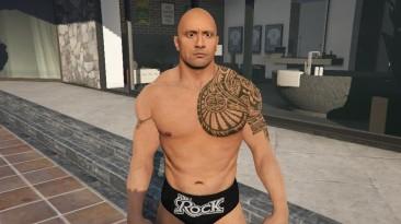 "Grand Theft Auto 5 ""Dwayne 'The Rock' Johnson [Add-On Ped]"""
