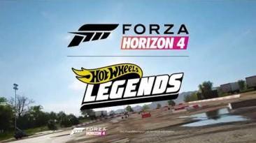 Анонсирован пакет автомобилей Hot Wheels Legends для Forza Horizon 4