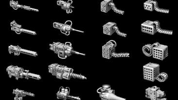 """BattleTech """"Оружие Кланов в игре (Clan Weapons Mod v. 1.1.)"""""""