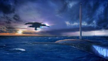 Ранее неопубликованные концепты трилогии Mass Effect в честь дня N7