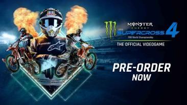 Открылись предзаказы на Monster Energy Supercross 4