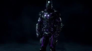 "Batman: Arkham Knight ""Batman Beyond Tron Skin (Purple) (Фиолетовый)"""