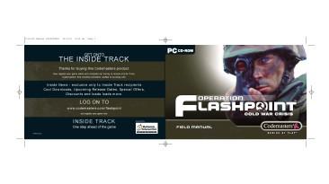 "Operation Flashpoint: Cold War Crisis ""Manual (Руководство пользователя)"""
