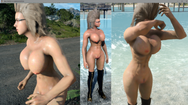 "Final Fantasy 15 ""nude Ignis v Ignis Amazon Princess"""