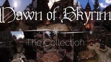 """Skyrim """"Рассвет Скайрима-Все Города/Dawn of Skyrim All Major Cities"""""""