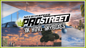 "Need for Speed: ProStreet ""8K HDR Небо"""