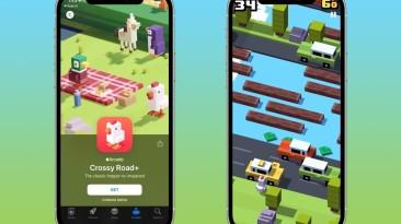 В Apple Arcade выйдет Crossy Road без доната и рекламы