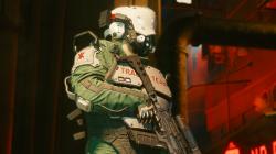 "Cyberpunk 2077 ""Костюм Trauma Team"""