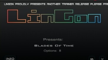 Blades Of Time: Трейнер/Trainer (+8) [1.6: Update 6] {LinGon}