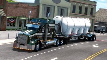 """American Truck Simulator """"Прицеп Polar Pneumatic Dry Bulk в собственность"""""""