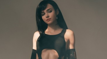 Красиво: Русская девушка показала сексуальный косплей Тифы Локхарт из Final Fantasy VII Remake