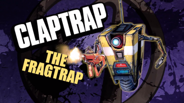 Распаковка Железяки из Borderlands: The Handsome Collection - Claptrap-in-a-Box Edition