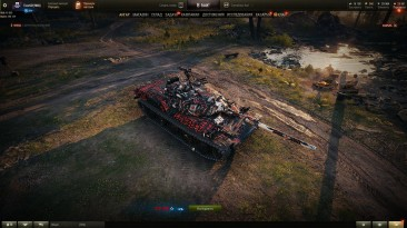 "World of Tanks ""Скин танка STB-1"""