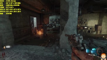 Call Of Duty Black Ops 3 Zombies Chronicles Pc 4K GTX 1080 TI Тест производительности