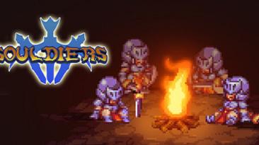 Анонсирована красочная 2D метроидвания Souldiers для ПК и Nintendo Switch