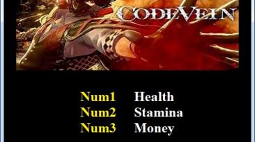 Code Vein: Трейнер/Trainer (+3) [1.0.1] {Abolfazl.k}