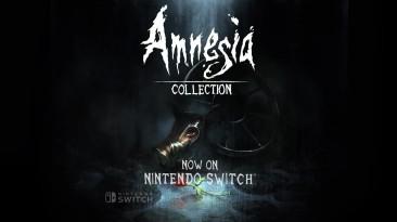 Релизный трейлер Amnesia: Collection для Switch