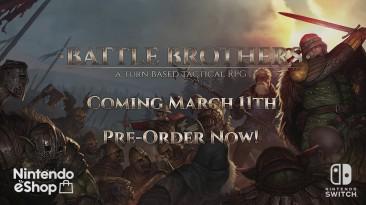 """Тактическая RPG """"Battle Brothers"""" выйдет на Nintendo Switch"""
