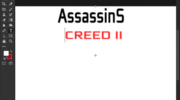 "Assassins Creed 2 ""Шрифт для фотошопа"""