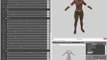 "Fallout 4 ""BodySlide и Outfit Studio 4.8.0"""