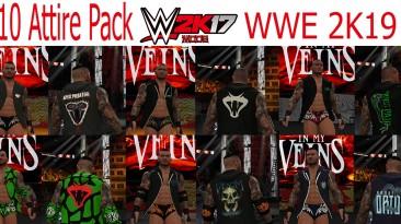 "WWE 2K17 ""Randy Orton 10 Attire Pack WWE 2K19 Port MOD"""