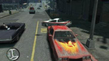"""Grand Theft Auto 4 """"Огненный винил для Sabre 2"""""""