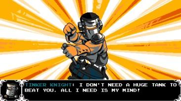 Shovel Knight Showdown - Трейлер нового персонажа Tinker Knight