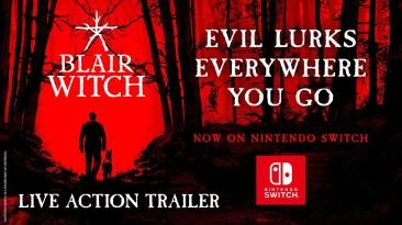 Состоялся релиз психологического хоррора Blair Witch на Nintendo Switch