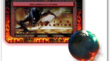 Alien: Isolation: Трейнер/Trainer (+6) [1.4] {iNvIcTUs oRCuS / HoG}