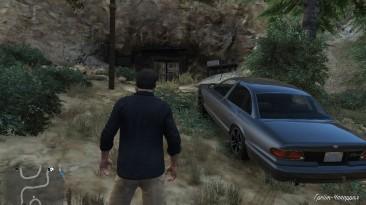 Grand Theft Auto 5 (GTA V): Сохранение/SaveGame (Перед шахтой для получения винтажных фильтров)