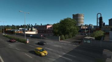 "Euro Truck Simulator 2 ""мод house/base - berlin"""